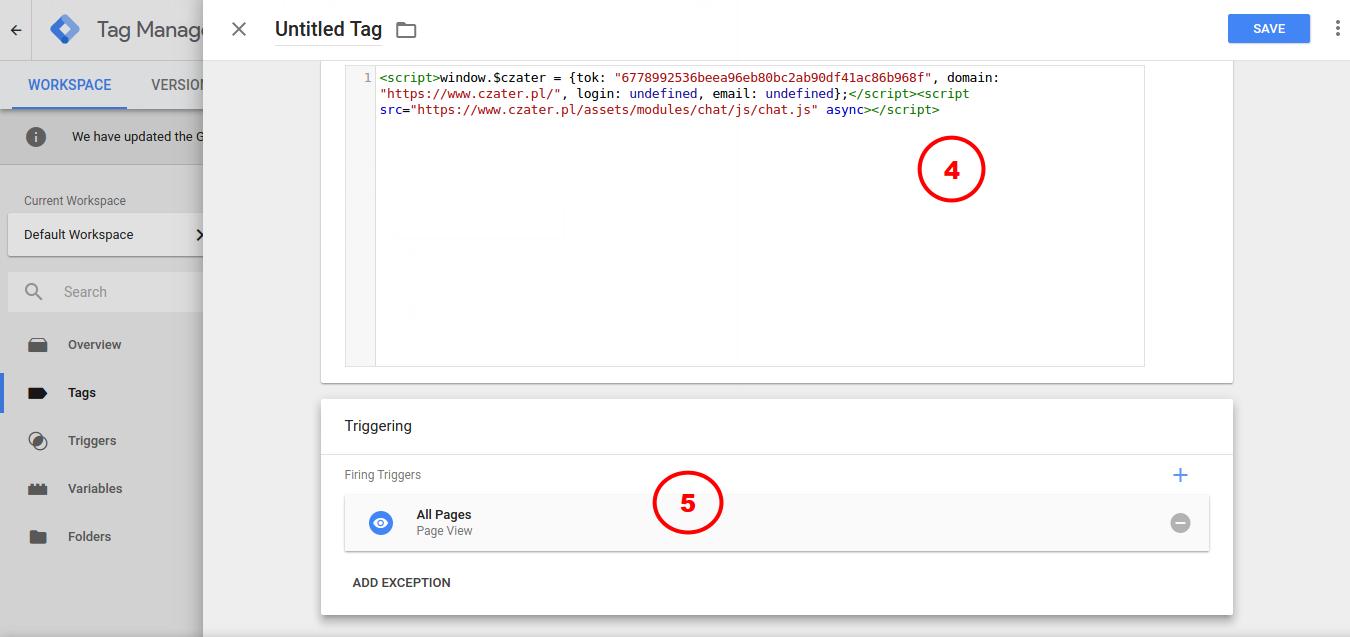 Google Tag Menager