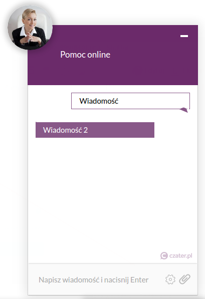 live chat na stronę